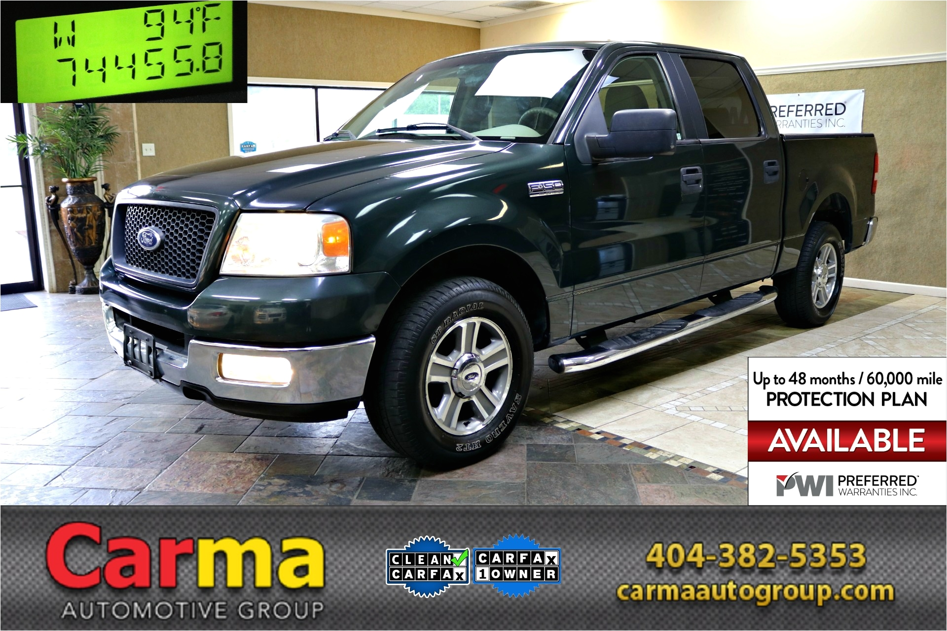 used 2005 ford f150 supercrew