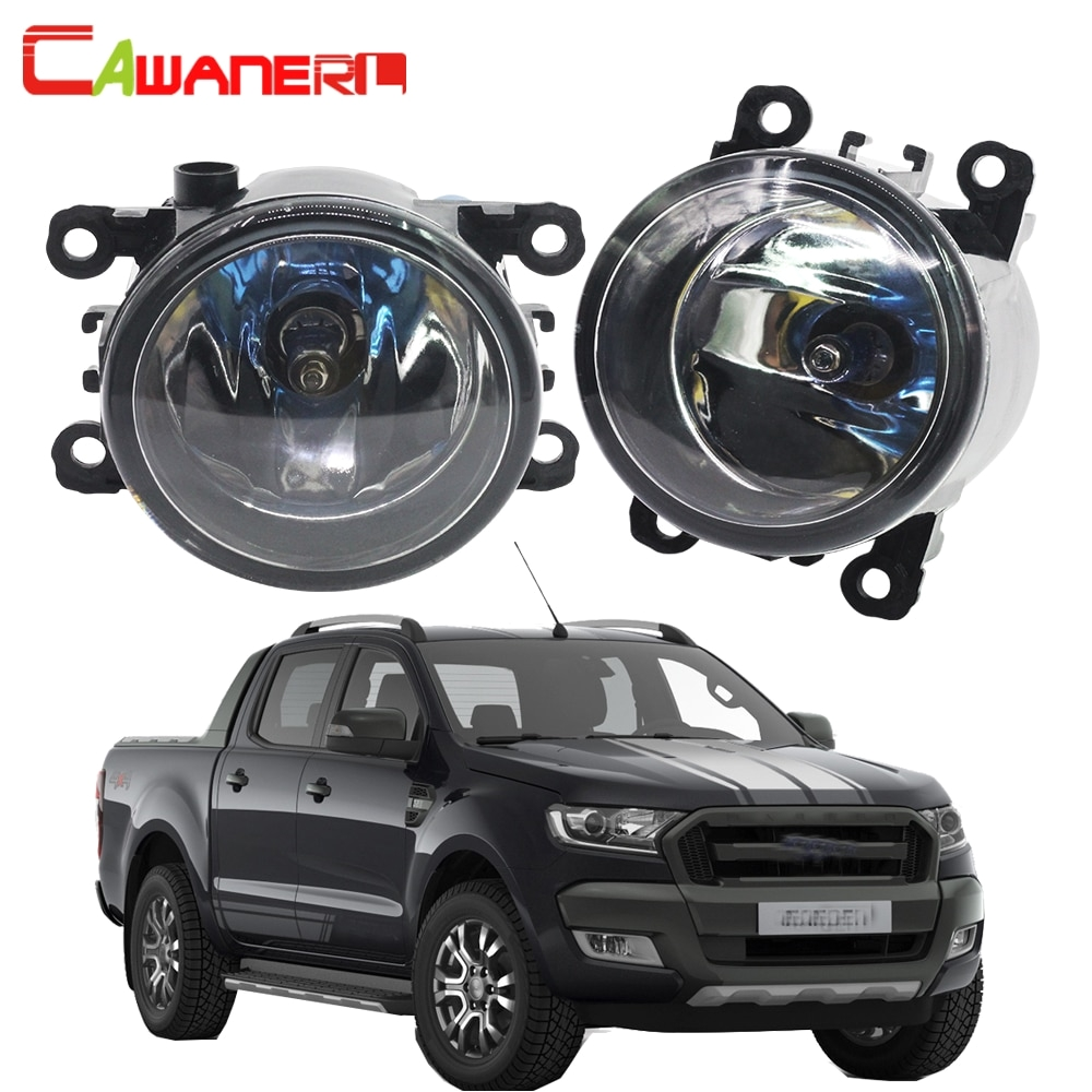 cawanerl for ford ranger 2005 2015 100w h11 car halogen fog light daytime running lamp