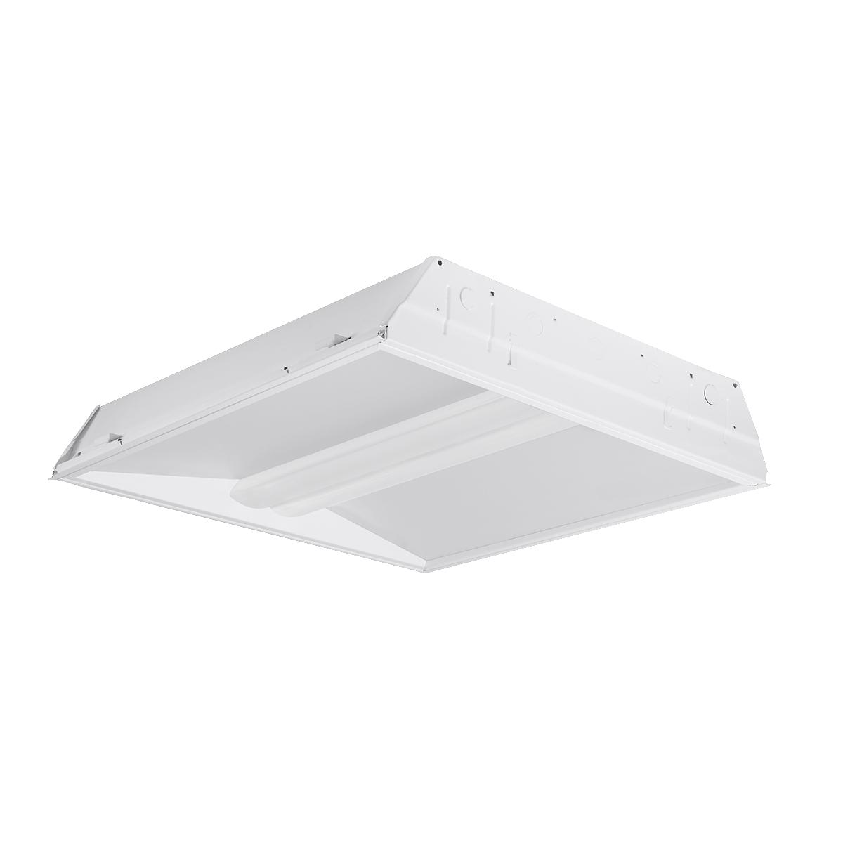 hblrla22 40hlg edu recessed led architectural luminaire size 2 ft x 2 ft
