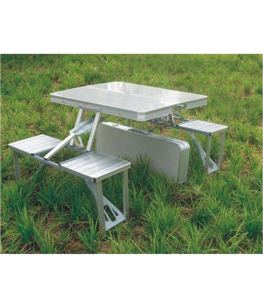 3 Piece Fitted Picnic Table & Bench Covers 4 Seater Multipurpose Outdoor Set In Silver Buy 4 Seater