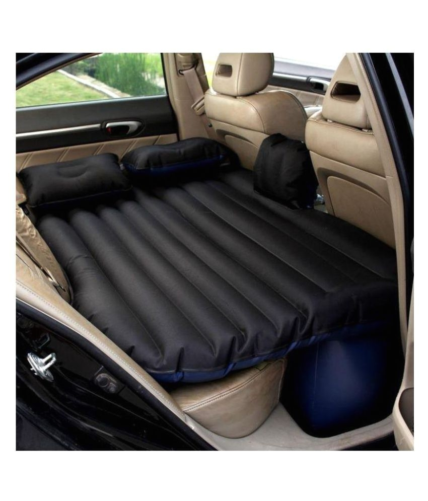 car inflatable bed self drive travel inflatable air bed car air mattress back seat