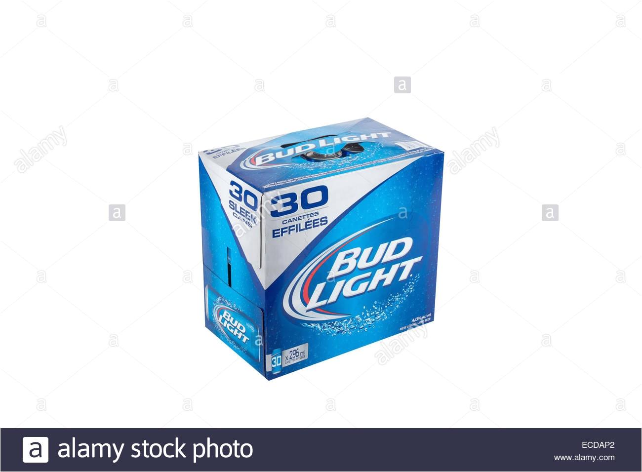 30 Pack Bud Light Budweiser Beer Can Stock Photos Budweiser Beer Can Stock Images
