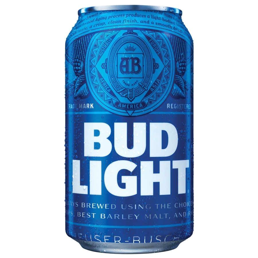 nuevo disea±o en las latas de la cerveza bud light