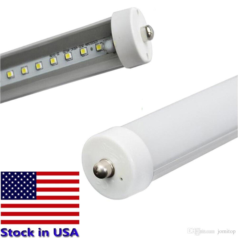 led tubes 8 foot 8ft fa8 2400mm t8 led tube lights super bright 45w 4500lm cool white led fluorescent tube ac85 265v led tubes t8 led tube lights led