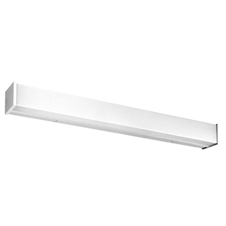 lithonia lighting wc 2 32 mvolt geb10is 2 light fluorescent wall bracket 4 feet white amazon com