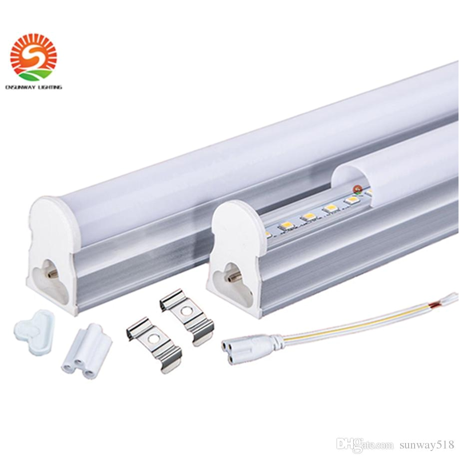 tubebase 1ft 2ft 3ft 4ft integrated tube t5 lights lamp led fluorescent 1200mm 1 2m 6 10 15 22w smd2835 ac85 265v t4 led tube led circular tube from