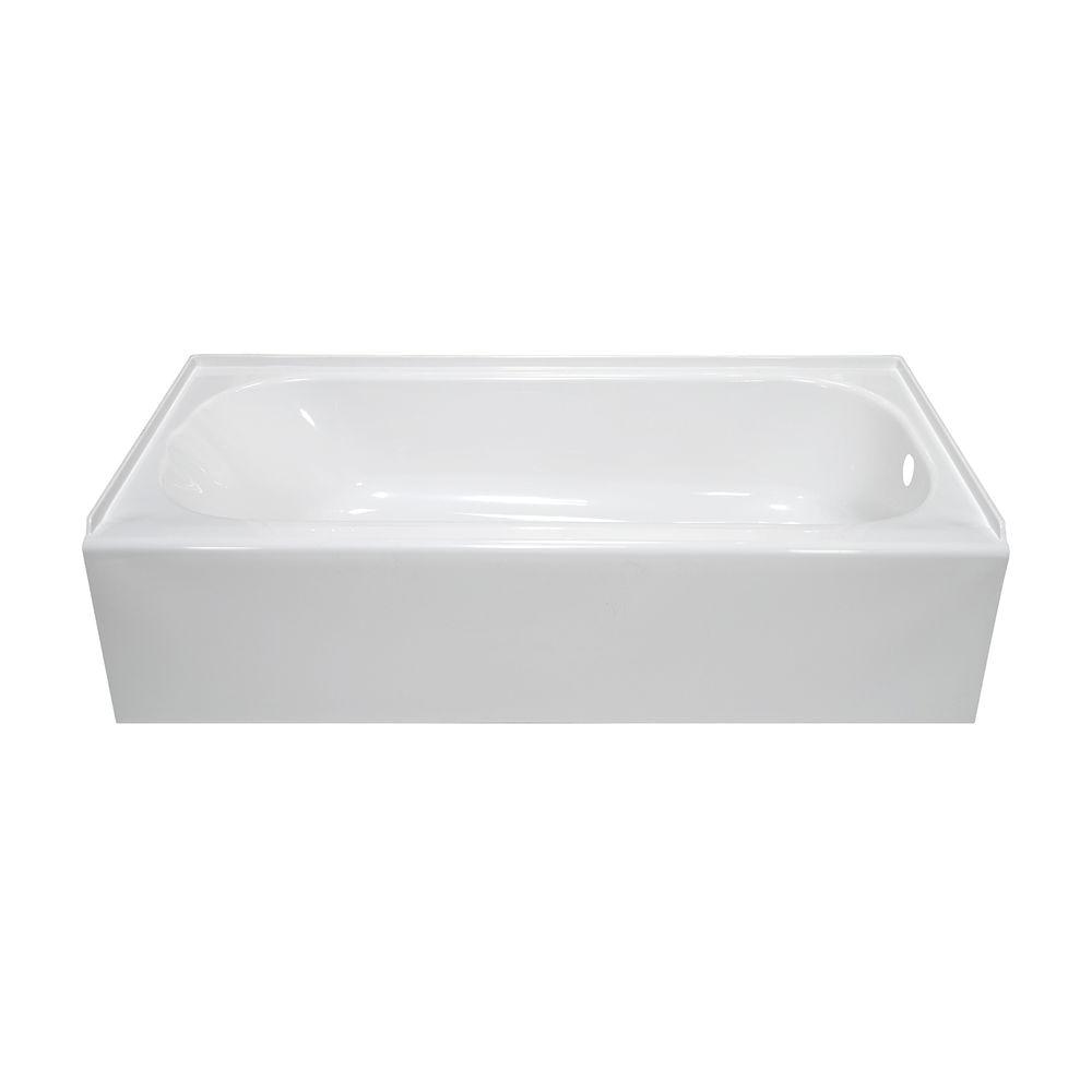 4.5 Foot Bathtub Lyons Industries Vtl01542716r White Acrylic 54 Wide Apron Front