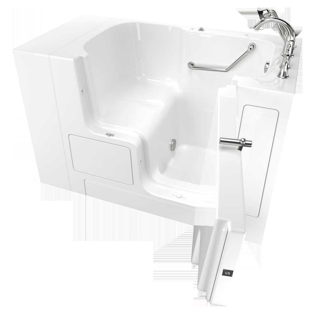 step in shower tub fresh value series 32a 52 inch walk in tub