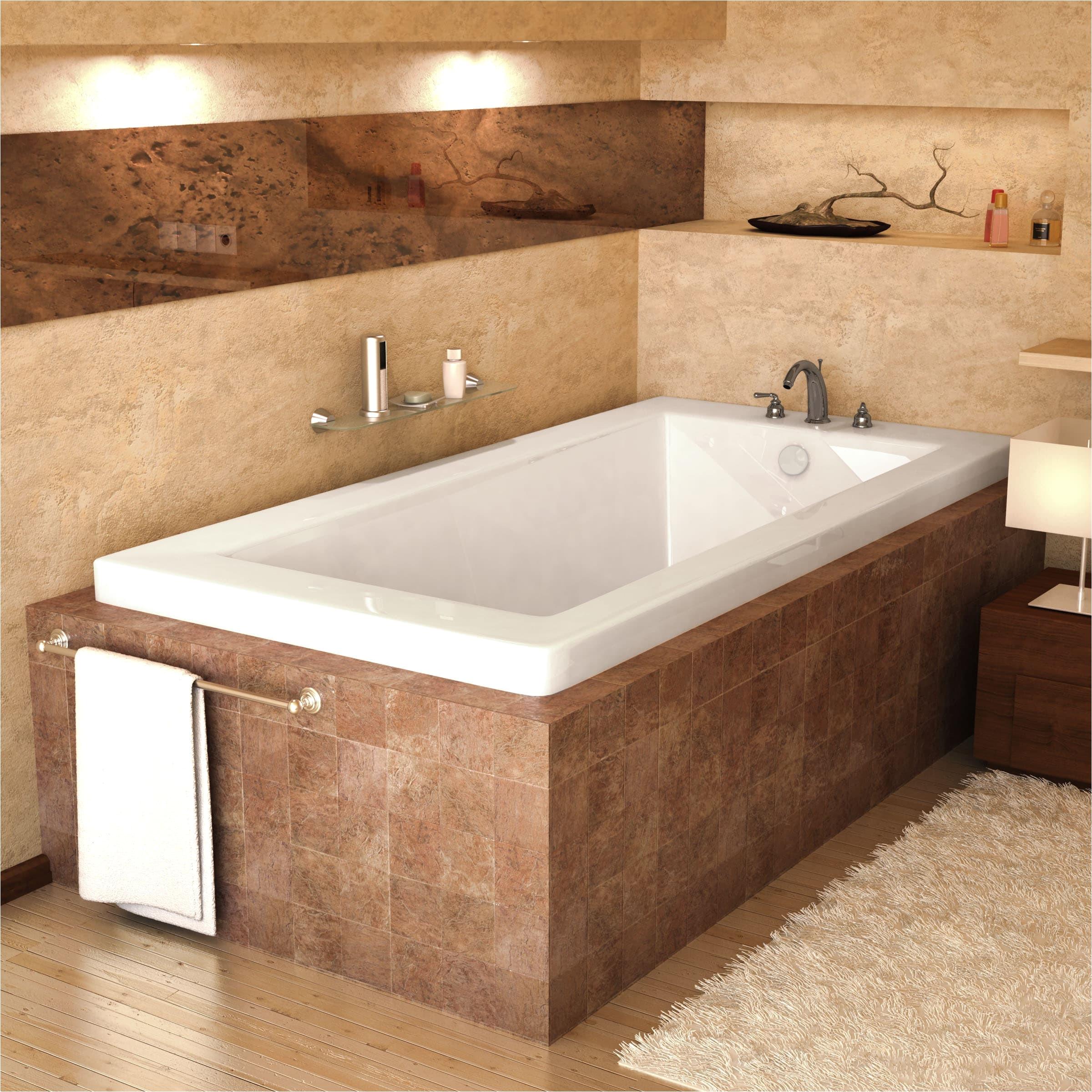 bathroom fabulius white acrylic 54x27 tub for modern bathroom decor
