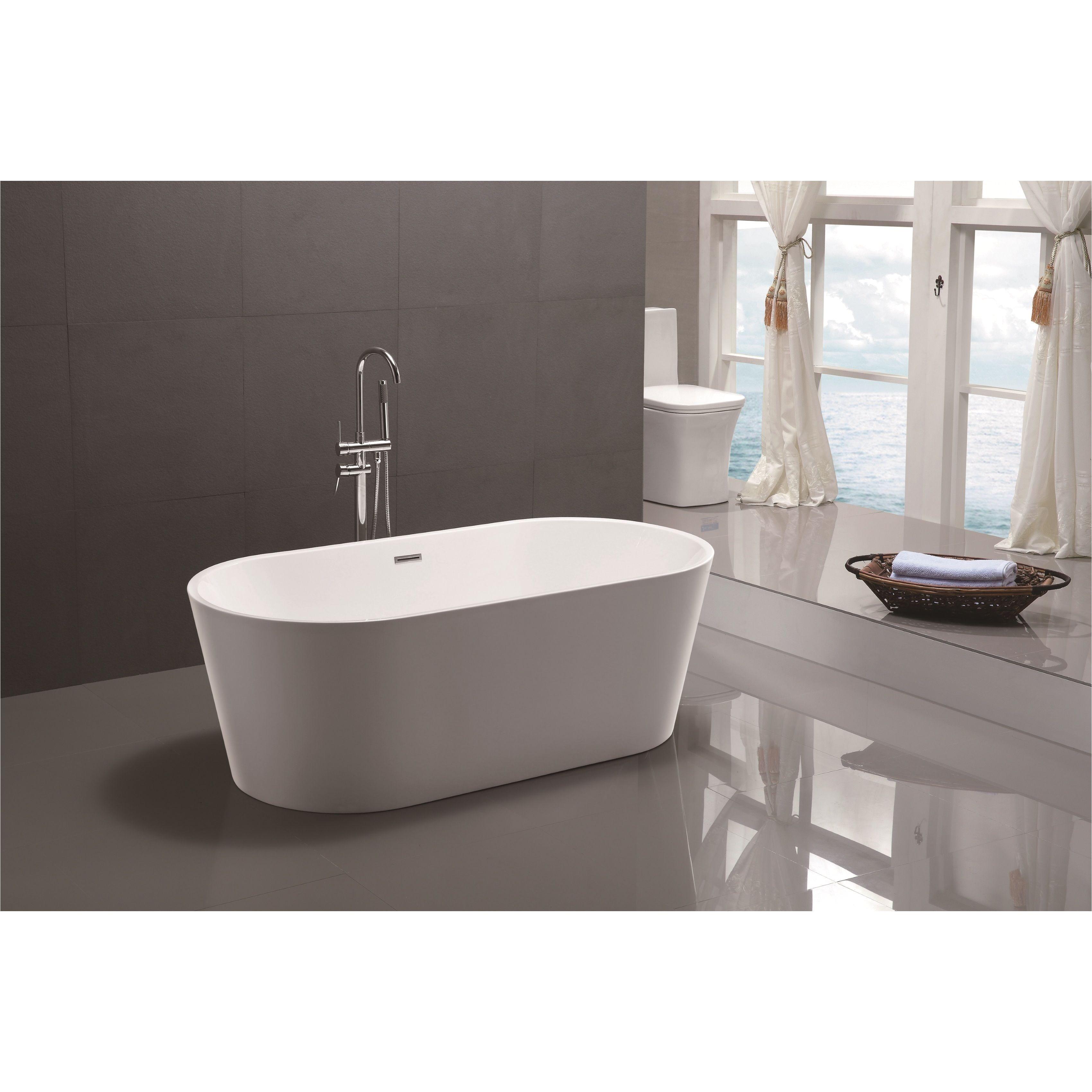 modern bathtubs lovely vanity art 59 inch freestanding soaking bathtub