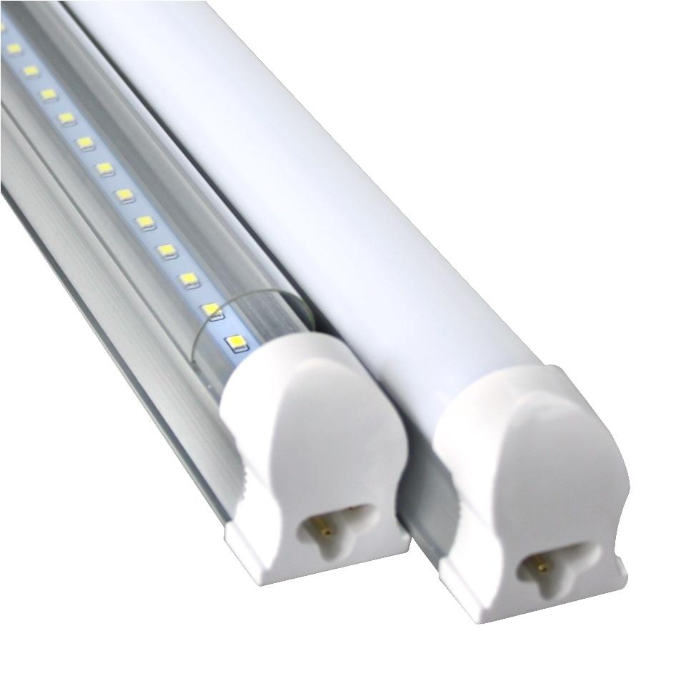 led bulbs tubes t8 570mm 10w 2 feet led integrated tube light 2ft ac85 265v g13 smd2835 led lights super bright 1000lm in led bulbs tubes from lights