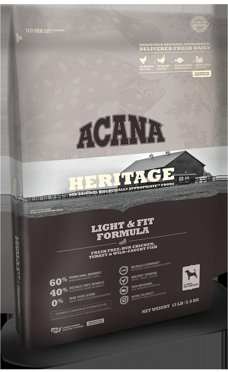 Acana Light and Fit Acana Dog Food Treats Made In Usa