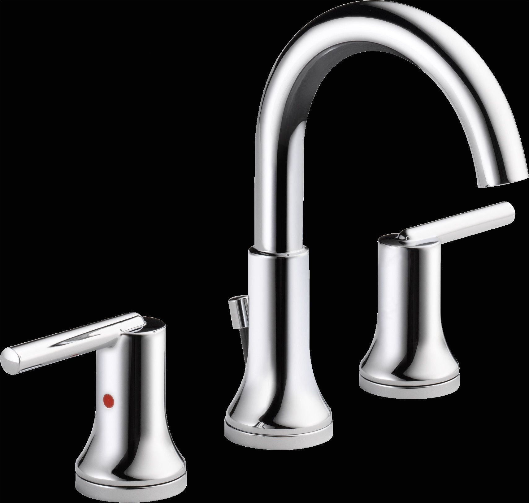 trinsica bathroom widespread bathroom faucet with drain assembly and diamond seal technology