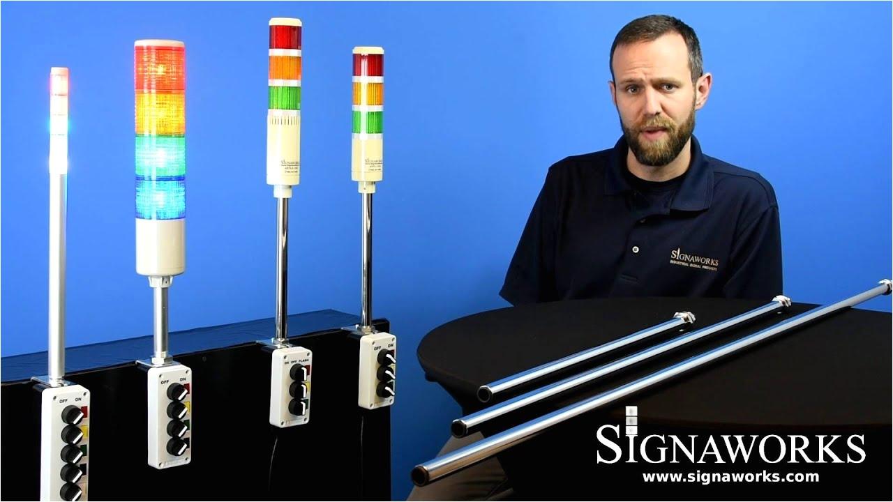 astl led andon tower light signaworks