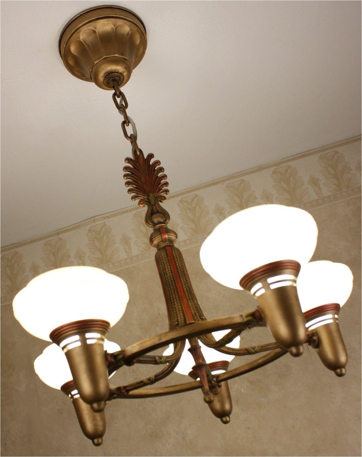 Antique 1920 Ceiling Light Fixtures Antique Rare 1920s Antique Vintage Art Deco Ceiling Light Fixture
