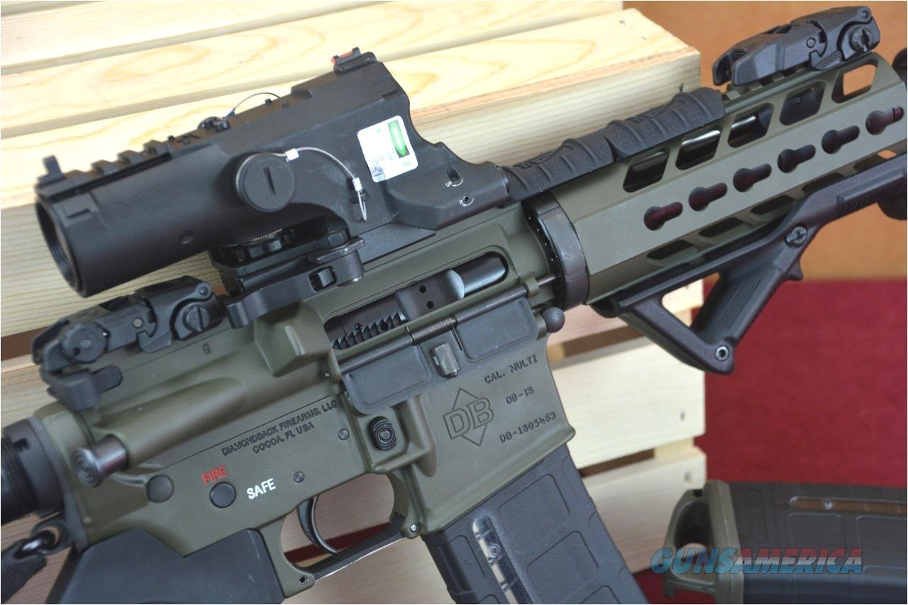 Ar 15 Tactical Light Db15p Ar 15 Pistol Od Green Battle Ready Ar15 for Sale