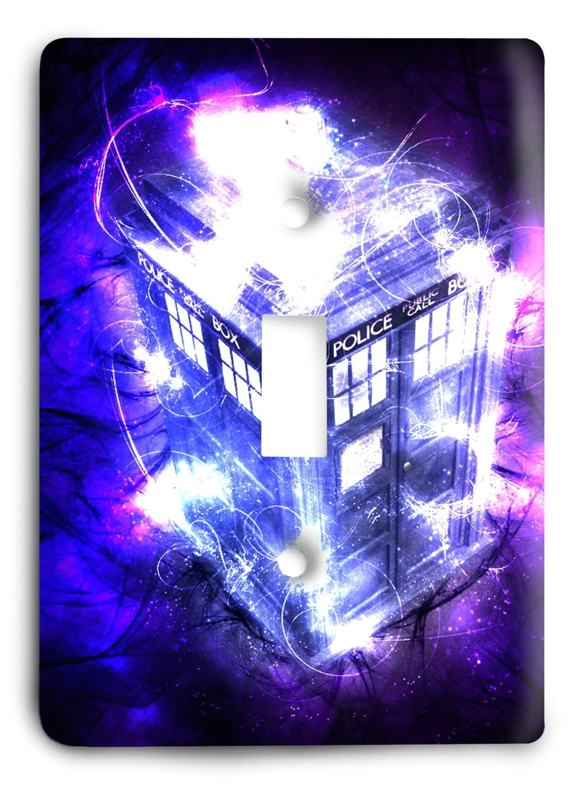 doctor who collector series v54 light switch cover