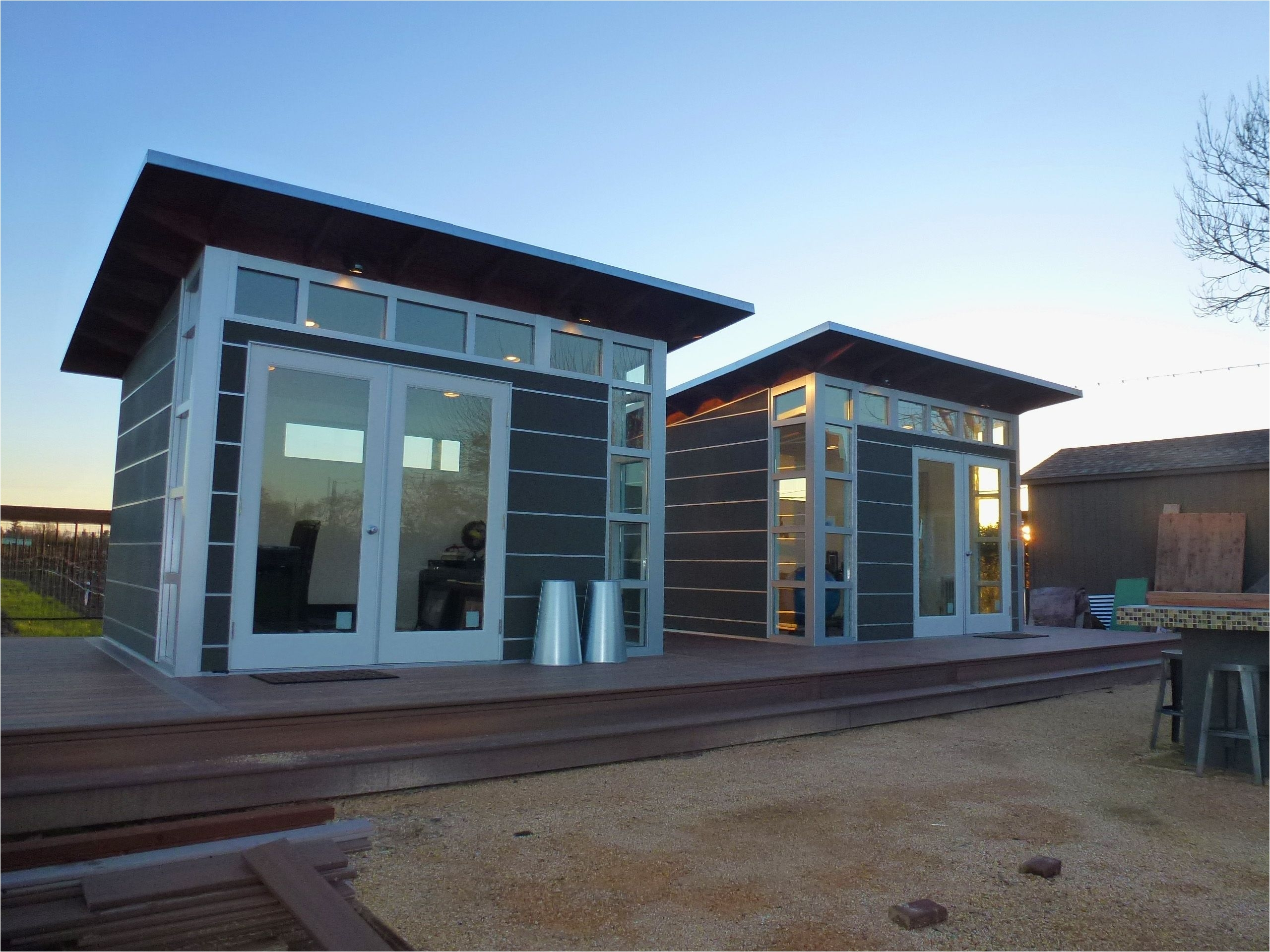 backyard studios home office sheds reimagined modern prefab shed kits