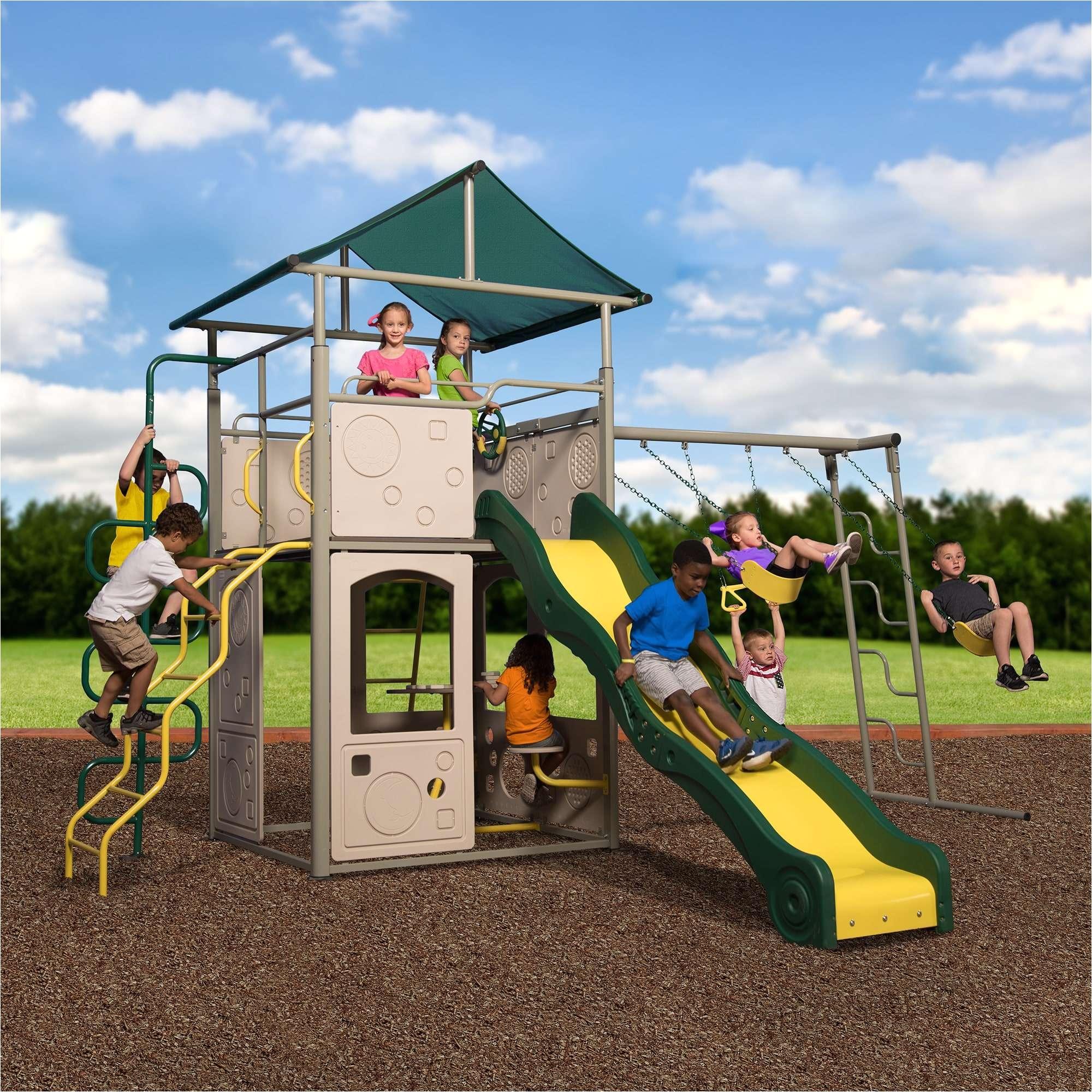 backyard discovery swing set warranty