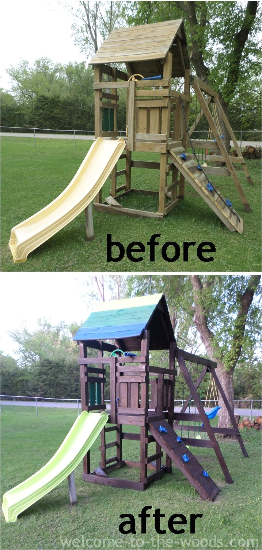 playground makeover