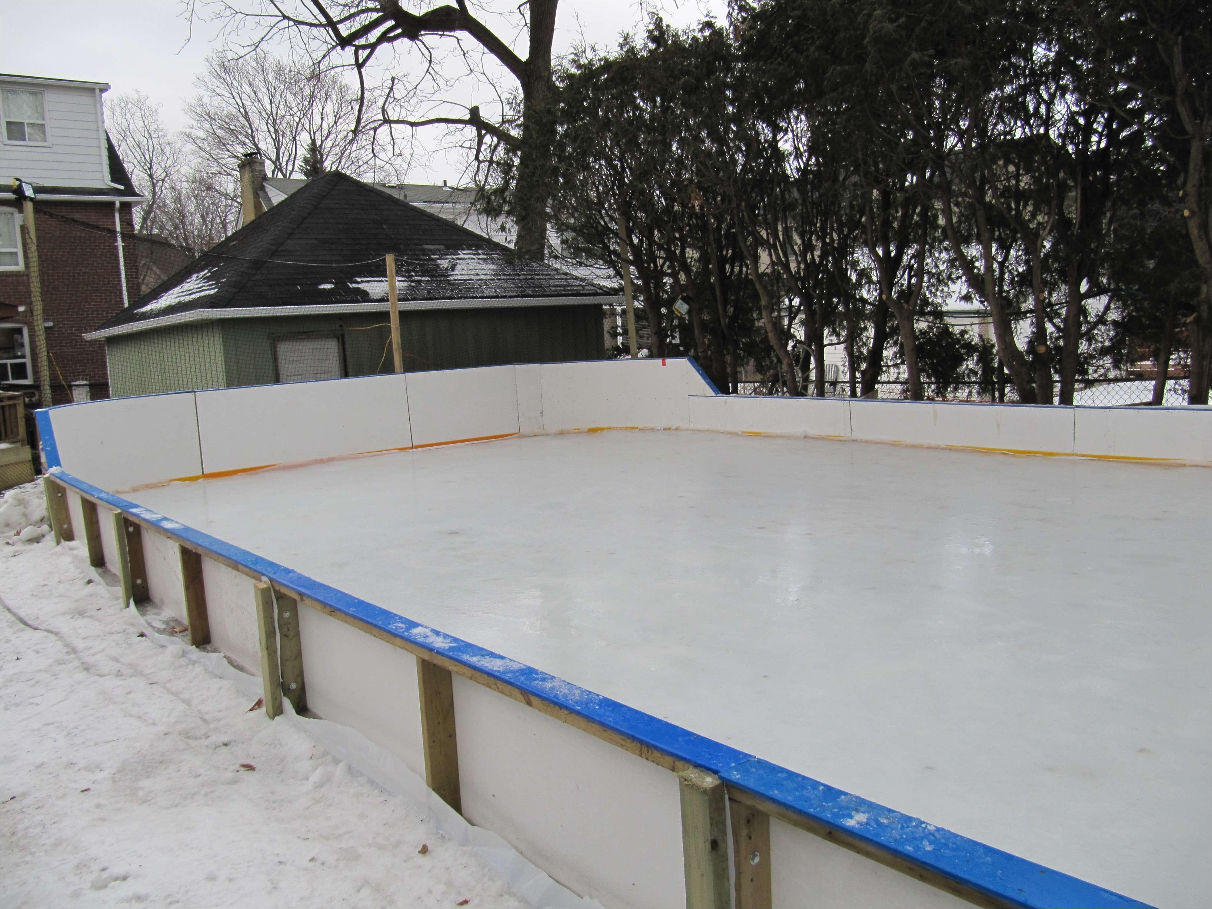 a backyard ice rink zamboni lovely backyard ice rink kits emiliesbeauty of a backyard ice rink