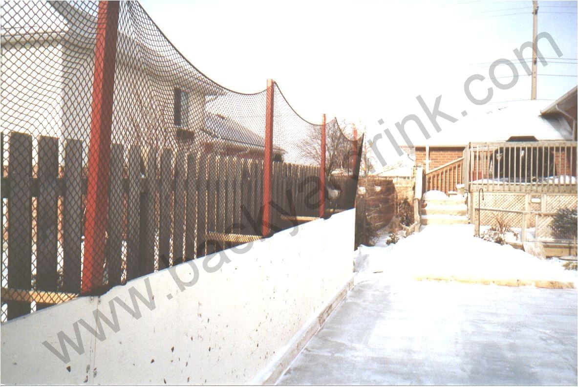 maximize rinks in backyards