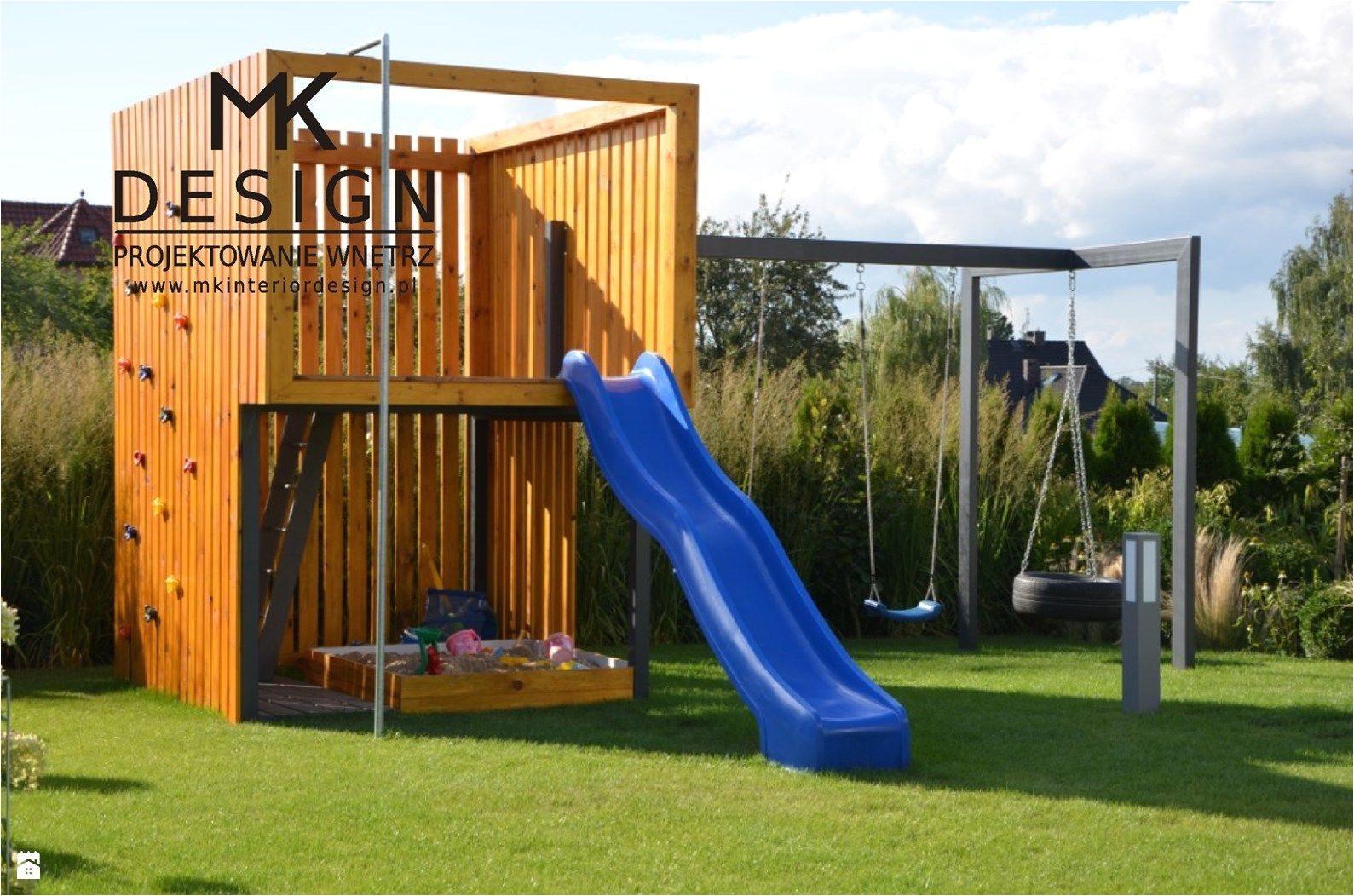 """diy backyard playground ideas top search nowoczesny plac zabaw zdja""""a""""¢cie od mk design projektowanie wna""""a""""¢trz ogra³d styl nowoczesny"""