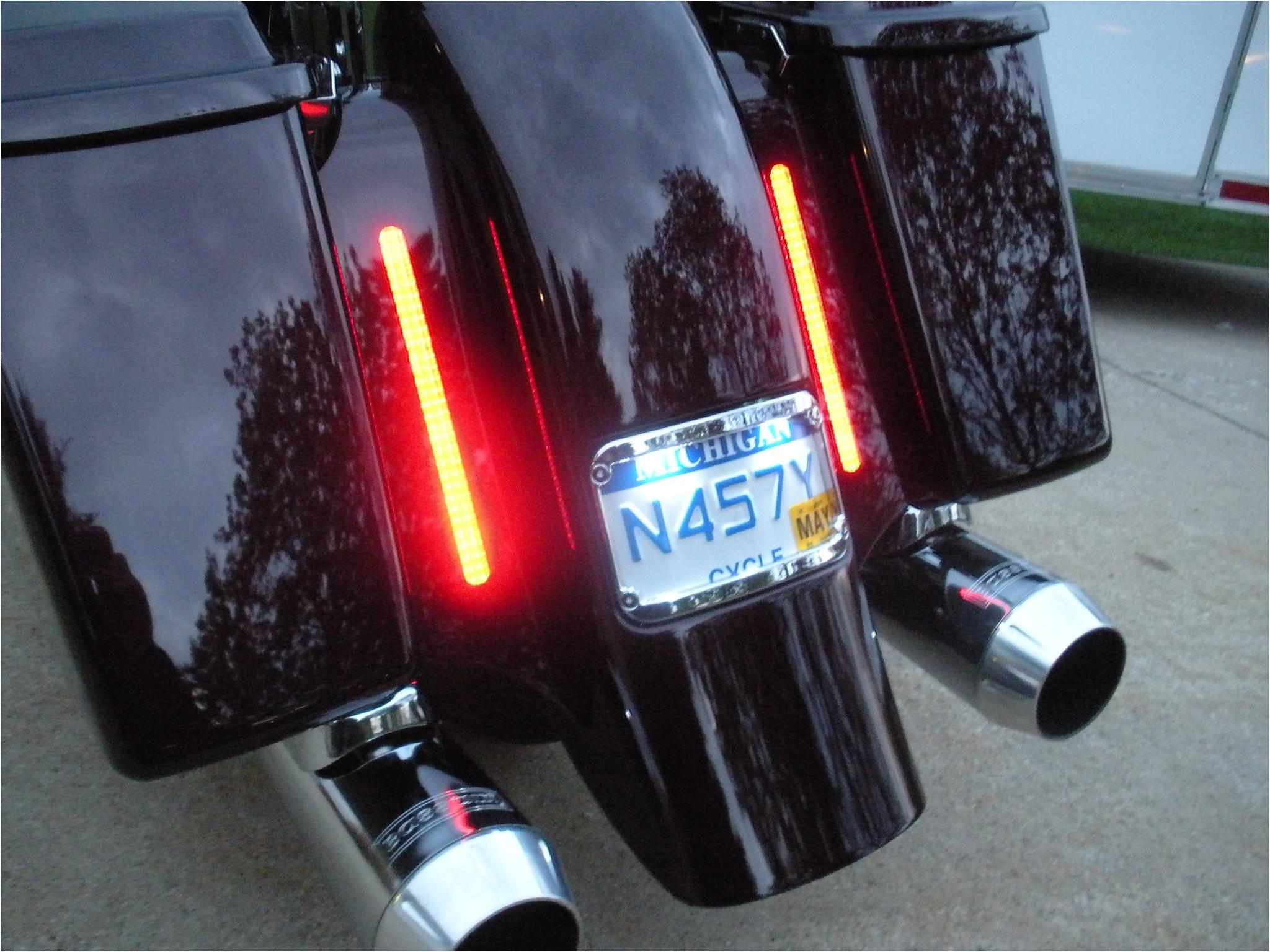 Bagger Tail Lights totally Flush Led Lights