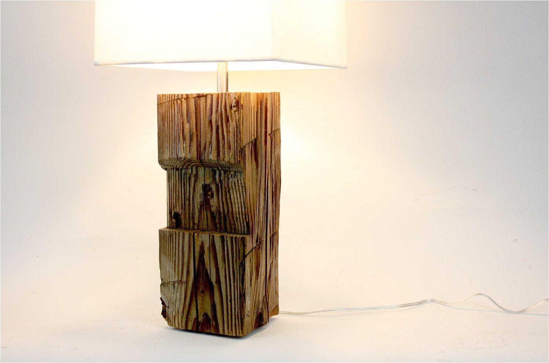 reclaimed wood lamp barn wood lighting rustic furniture repurposed light modern industrial lamp 95 00 via etsy rusticdecoroffice