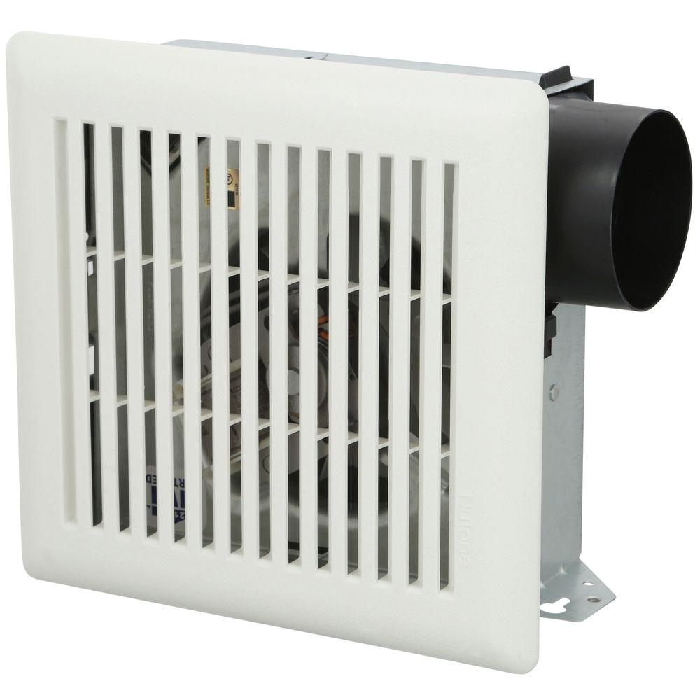nutone 50 cfm wall ceiling mount bathroom exhaust fan