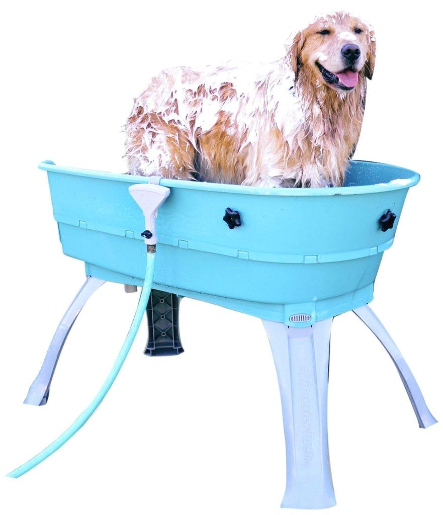 booster bath dog washing tub 150 lbs capacity mutt huts