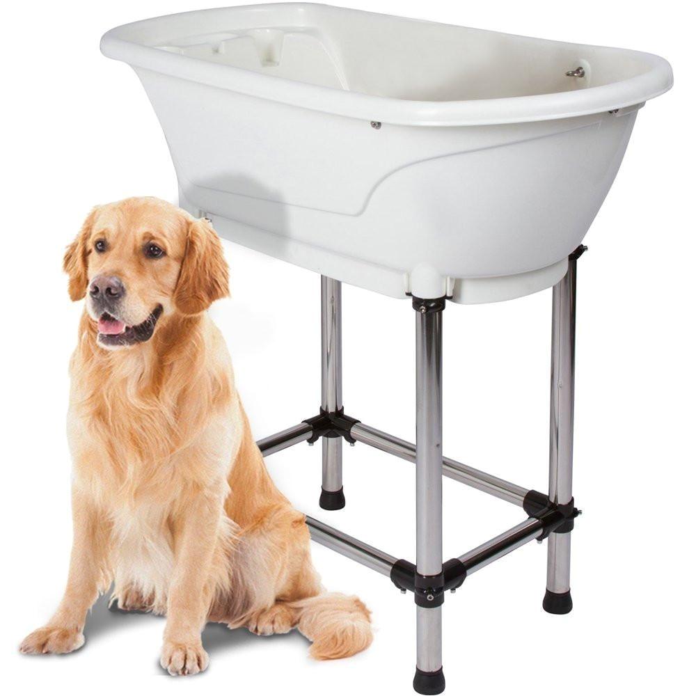 Bathtub for Dogs Paw Essentials Pet Grooming Portable Bath Tub Station Dog
