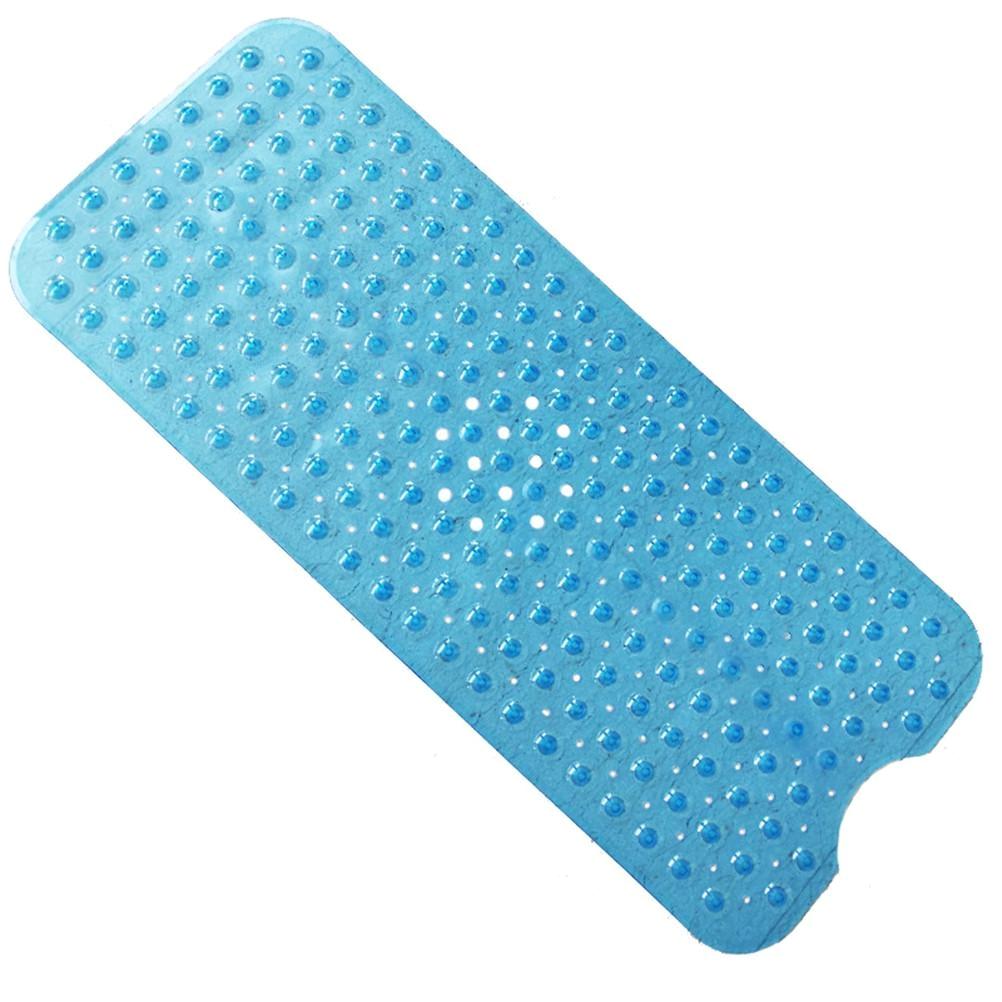 100x40cm bath mat non slip pvc shower mat mildew resistant bathtub mats with suction cups