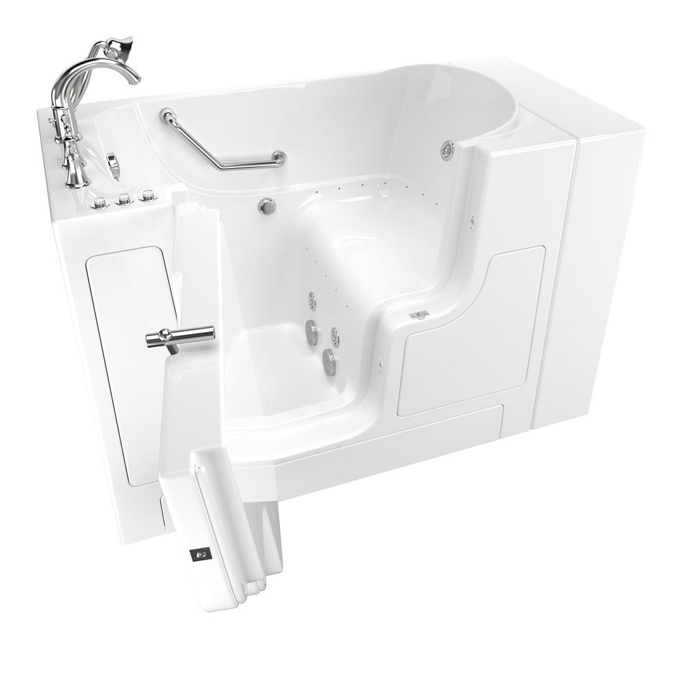 Bathtub Paint Home Depot American Standard Gelcoat Value Series 51 In Walk In Whirlpool and