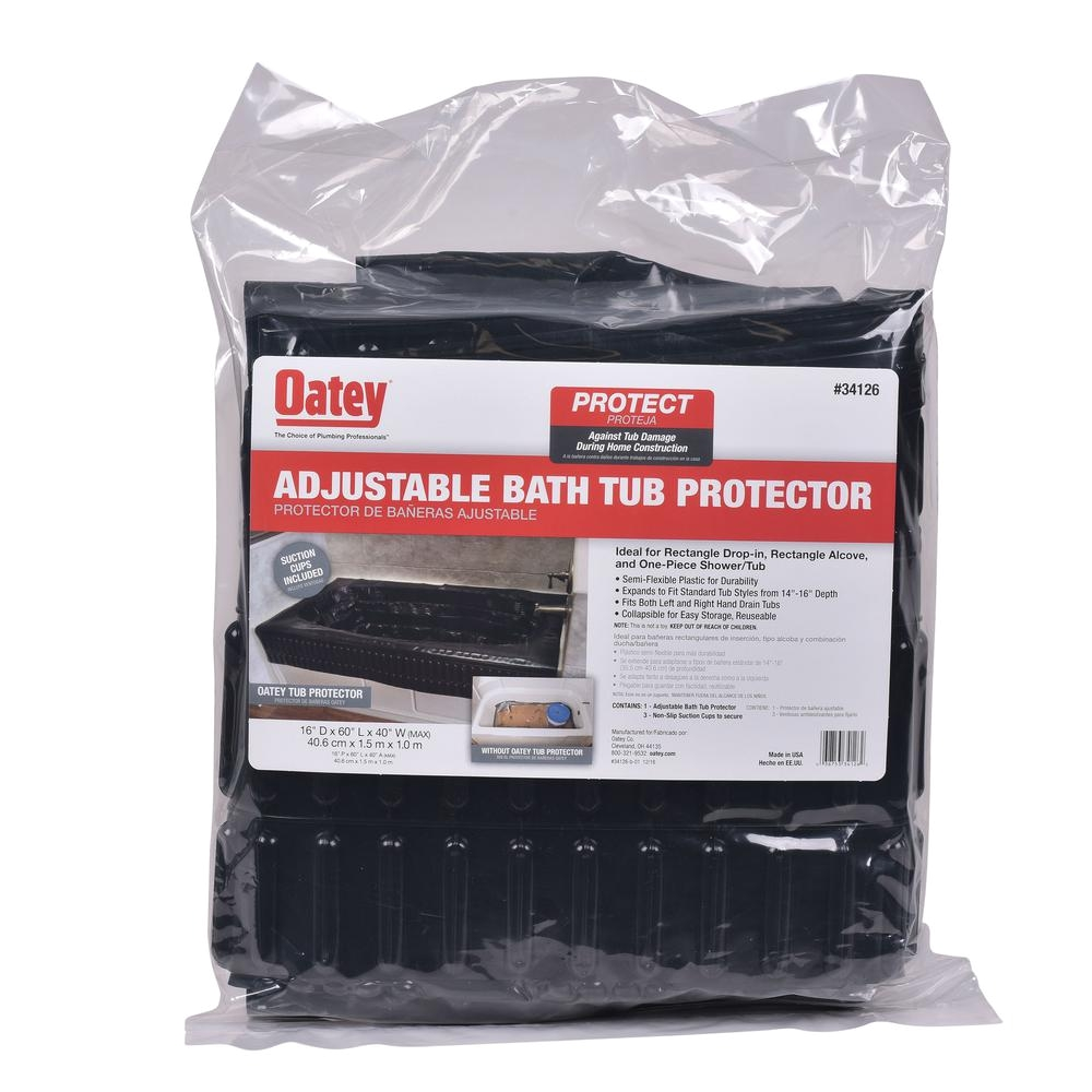 oatey tub protector adjustable