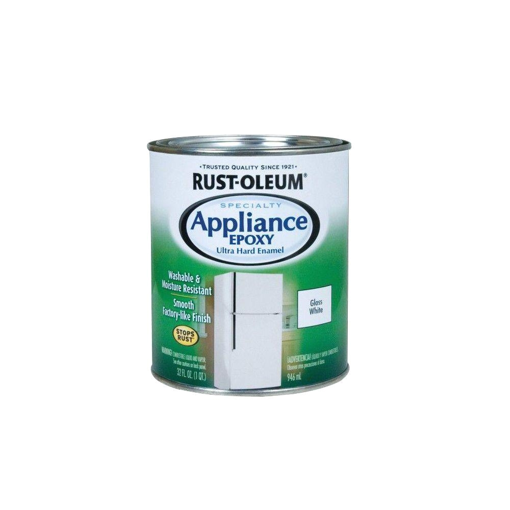 appliance epoxy gloss white interior enamel paint