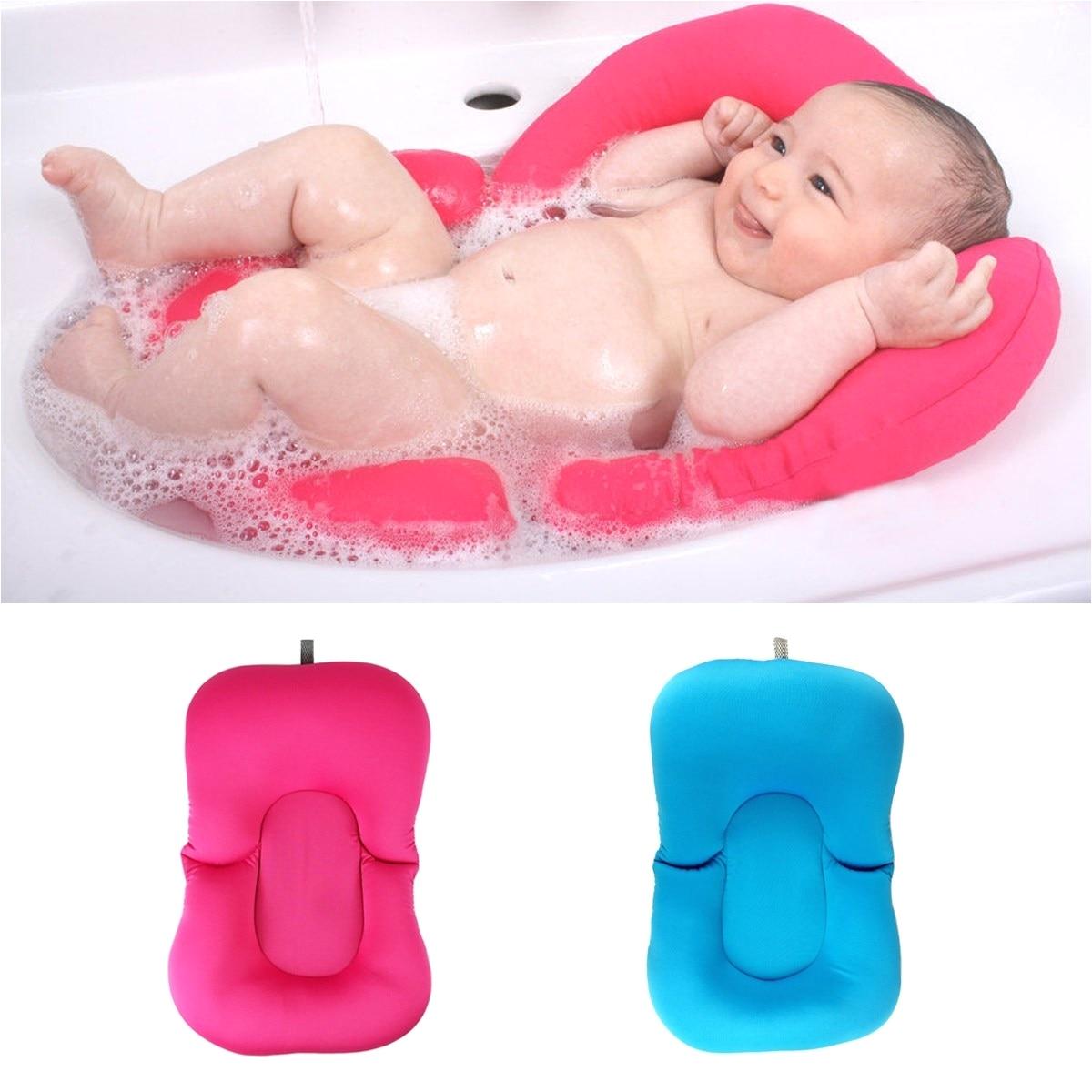 Bathtub Seat for Babies Hot Sales Newborn Baby Bath Tub Pillow Pad Infant Lounger Air