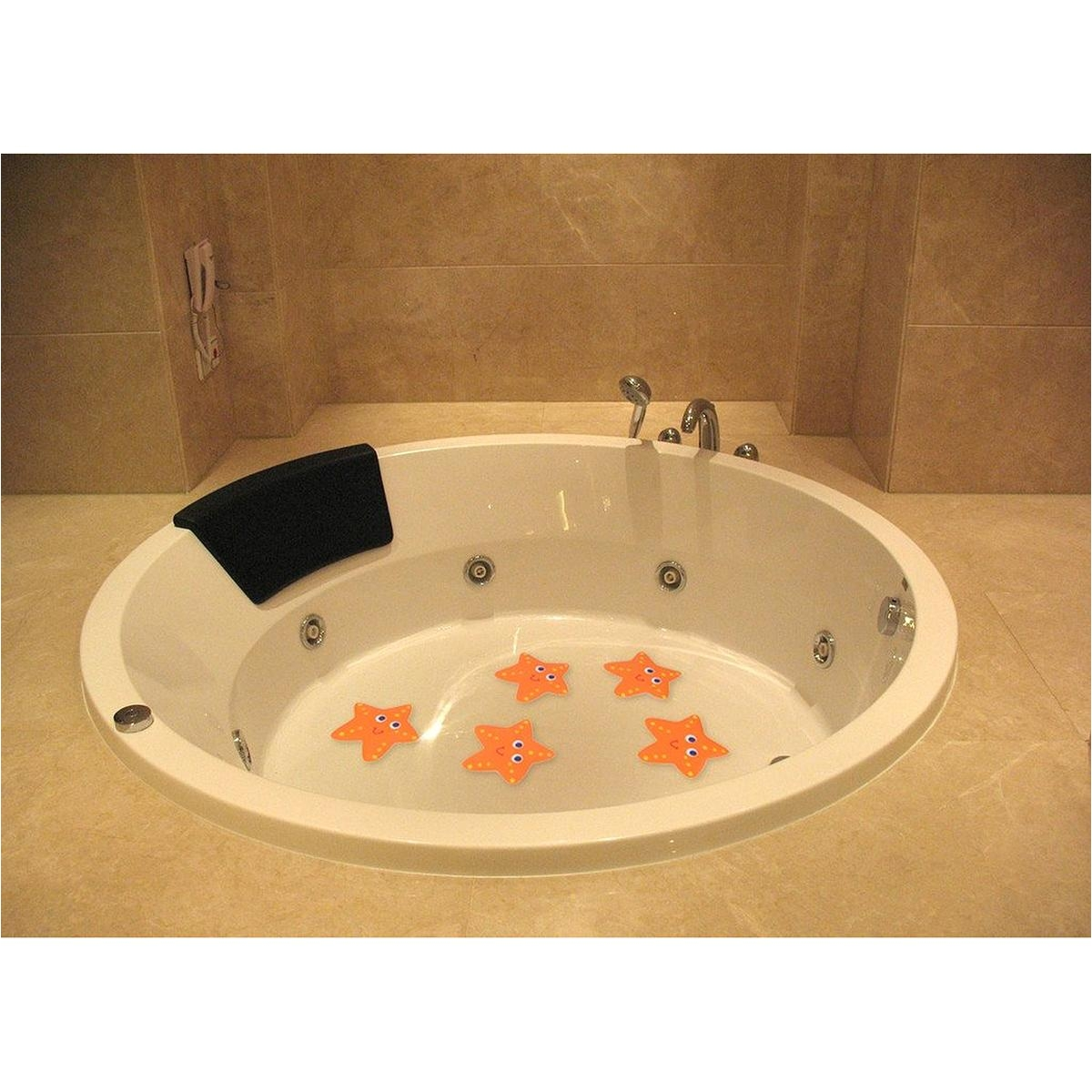 Bathtub Slip Stickers 5x Bath Tub Non Slip Safety Treads Sticker Bathroom Applique Decal