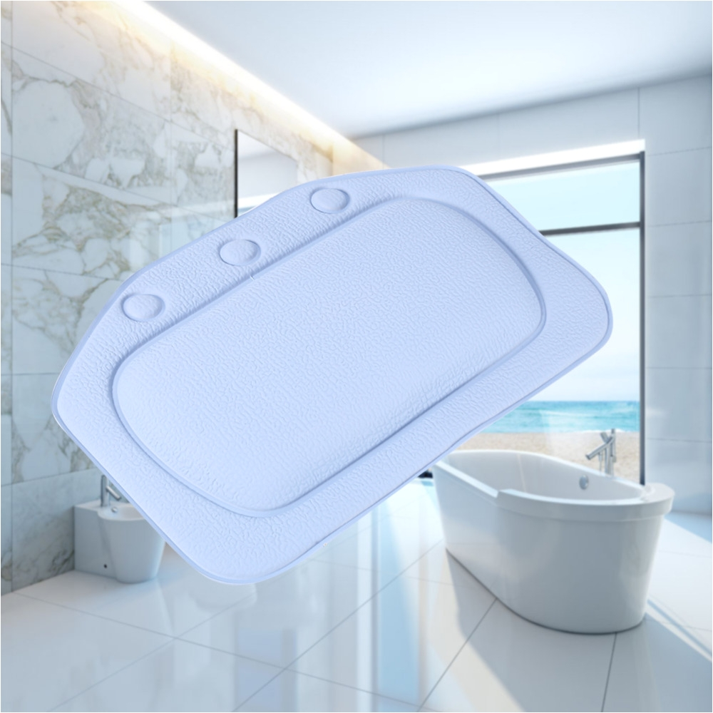 bathroom supplies bathtub pillow bath bathtub headrest suction cup waterproof spa bath pillows bathroom products home