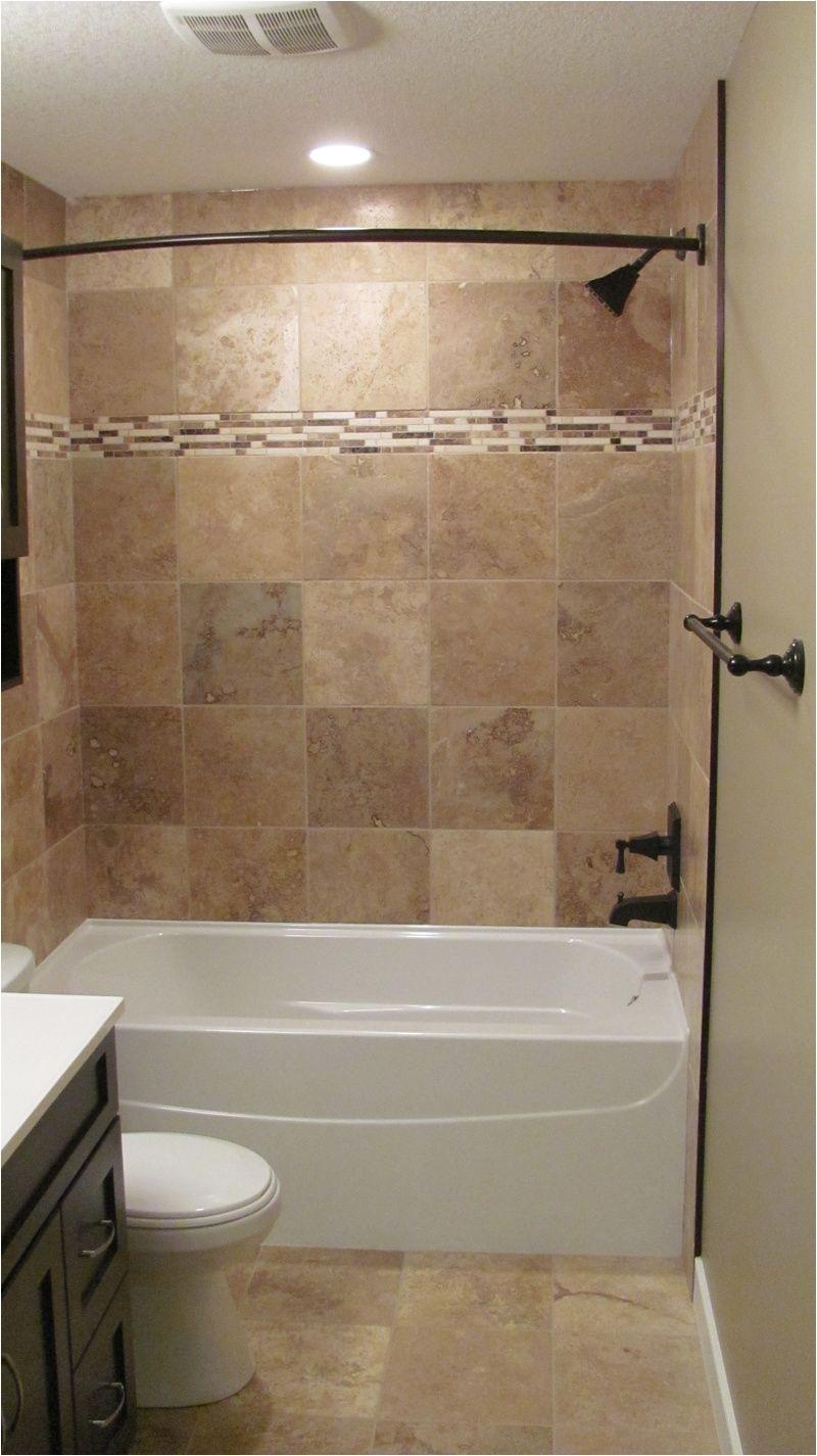 bathroom good looking brown tiled bath surround for small bathroom decoratoin