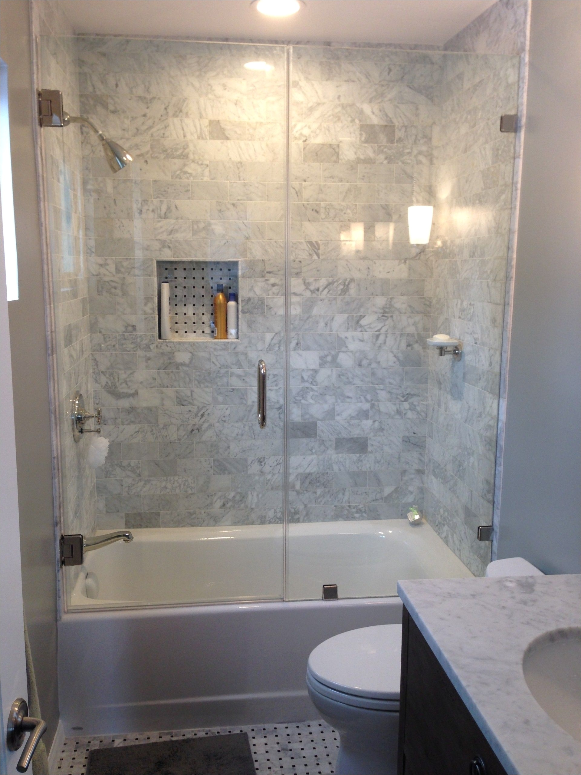bathtub shower combo can work with an endless array of design styles and is perfect for