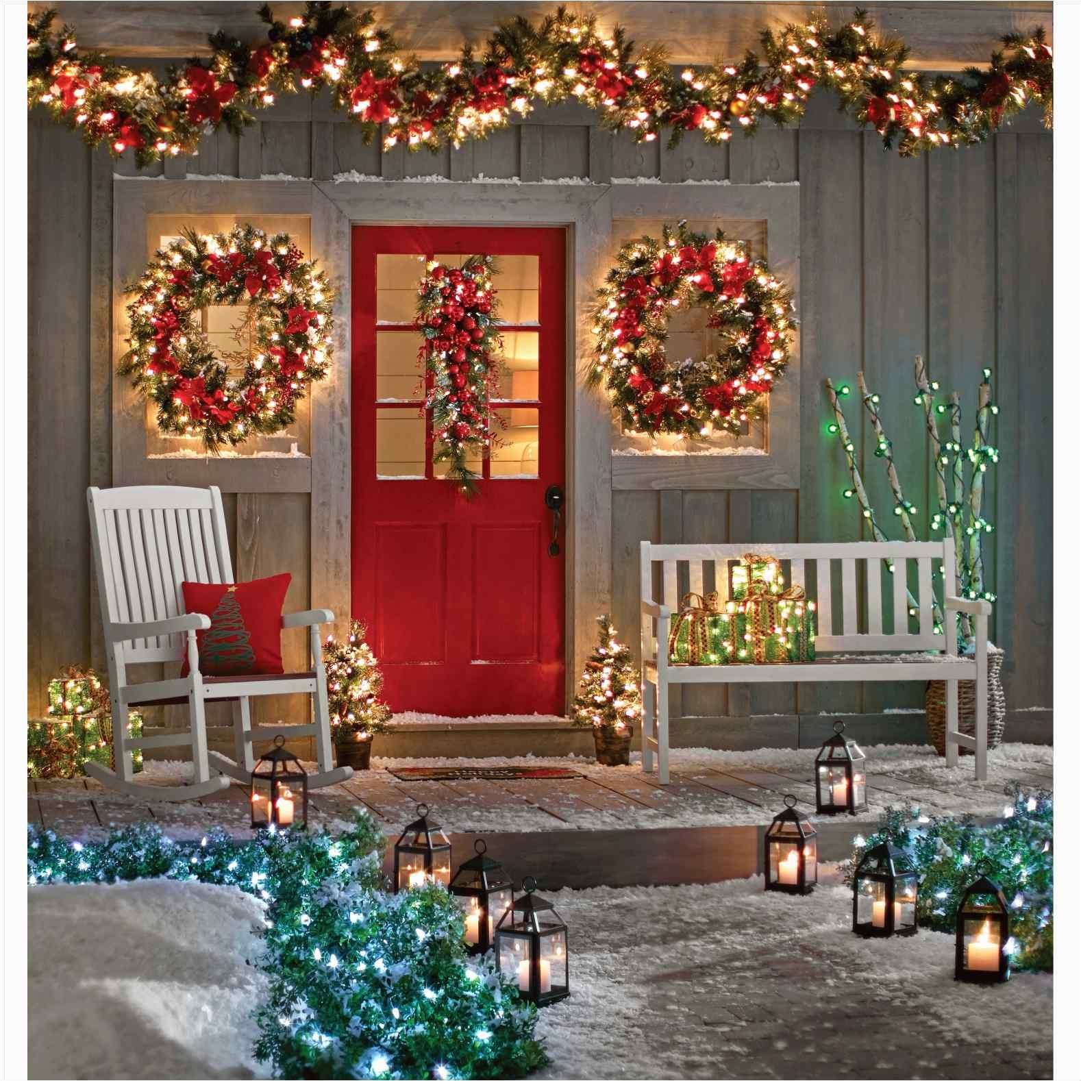 pre lit garland wreath artificial indoor wreaths gvine lighted garland outdoor outdoor lighting