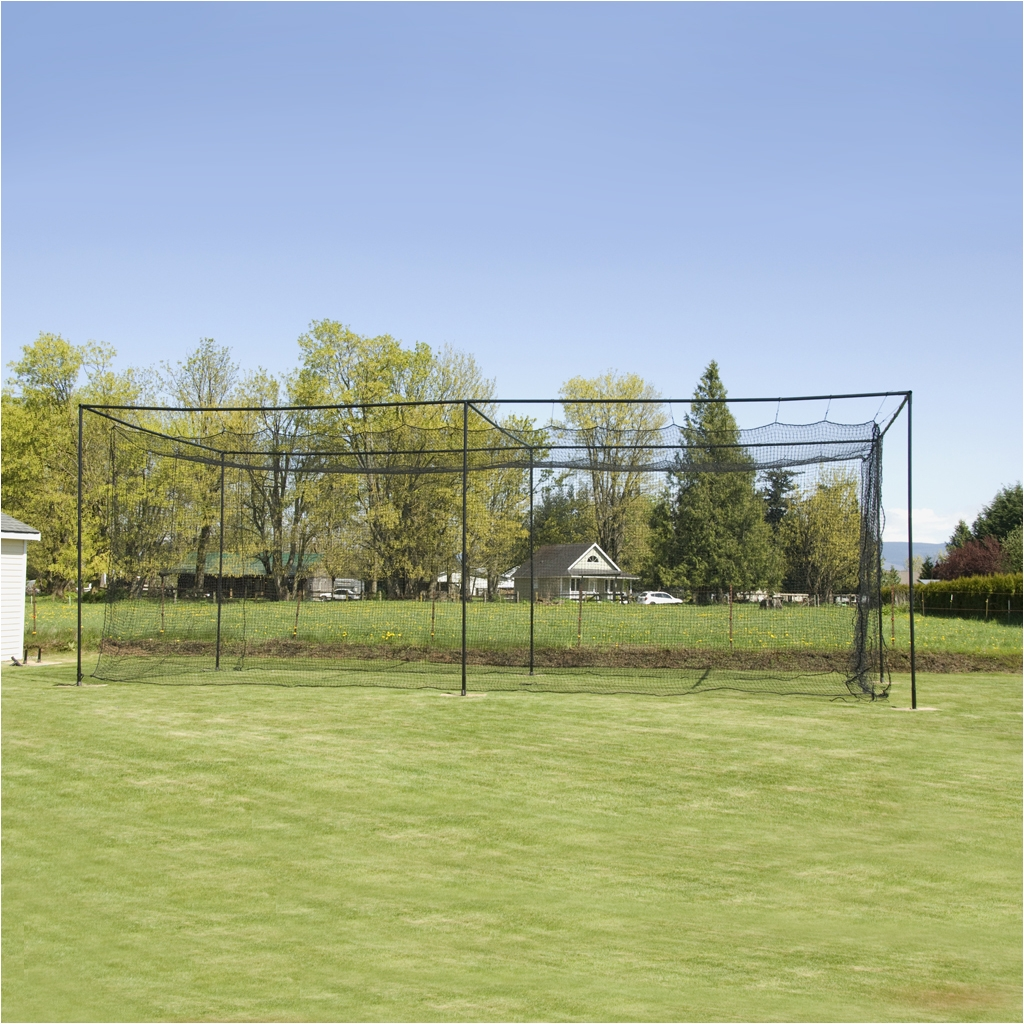 premium 36 hdpe batting cage package