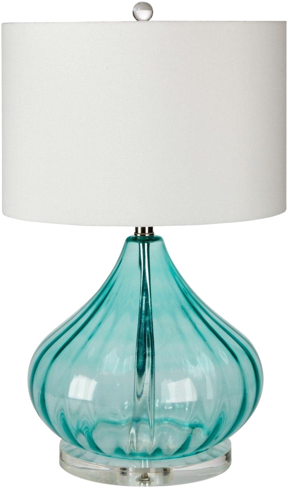 Beach themed Lamp Shades Coastal Lamp Beachin Pinterest Coastal Aqua Glass and Aqua