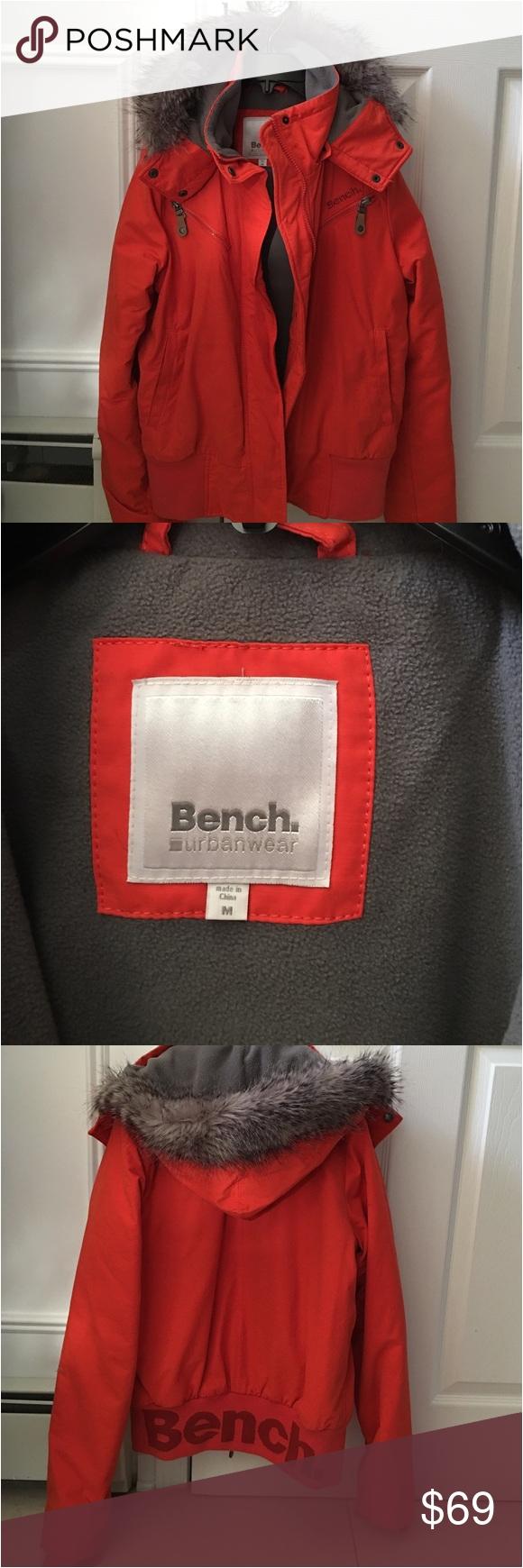 bench jacket womens size medium