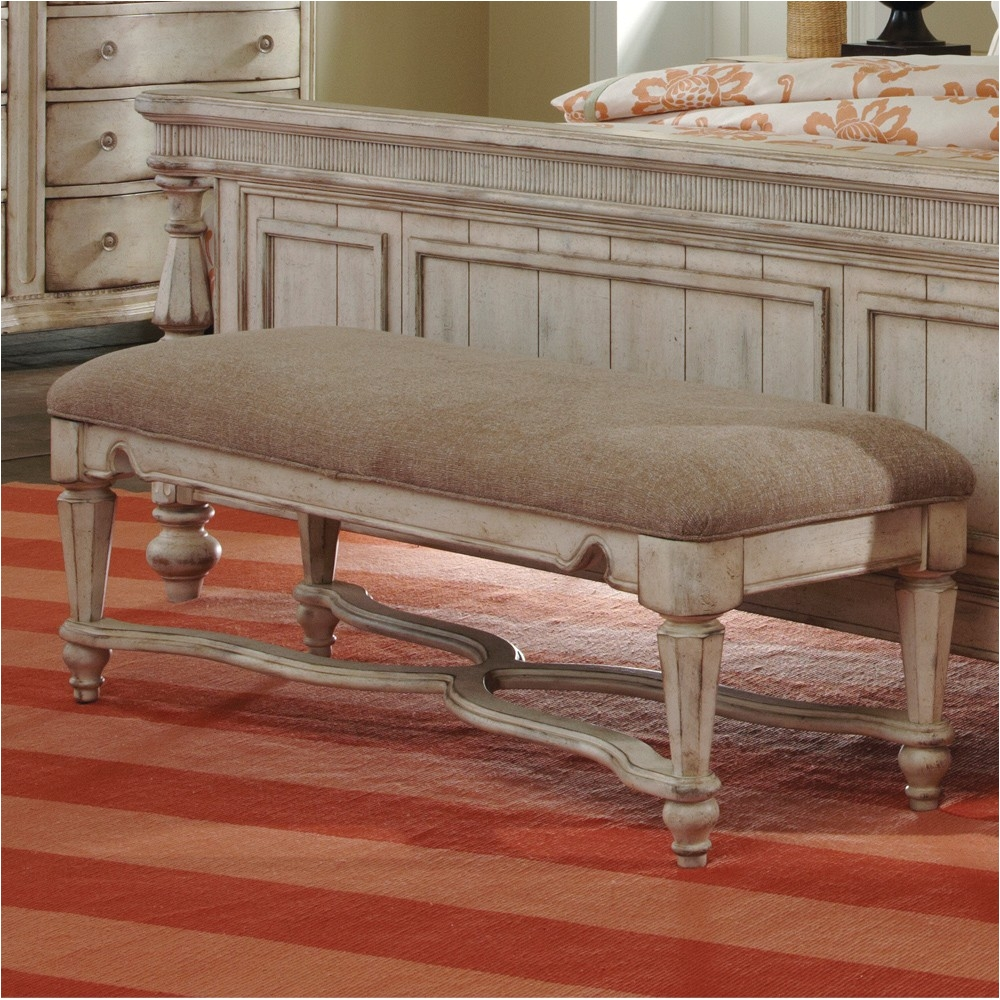 belmar ii bedroom collection a· belmar ii upholstered bed bench in white