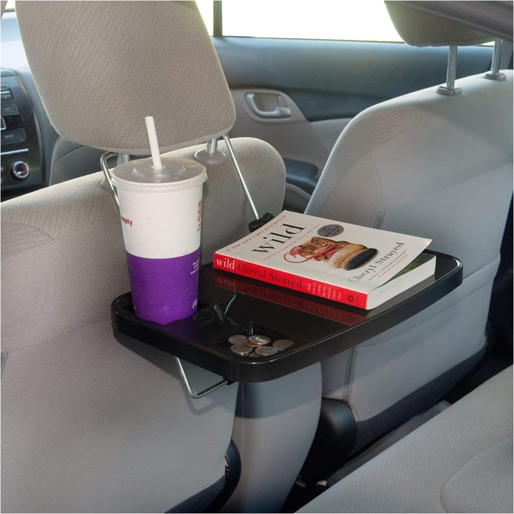 Bench Seat Cup Holder Evelots Auto Tray Eating Laptop Steering Wheel Desk Cup Holder
