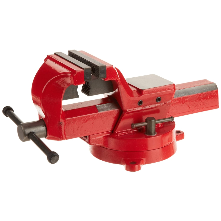 Bench Vise Lowes Shop Yost 7 In forged Steel Bench Vise at Lowes Com