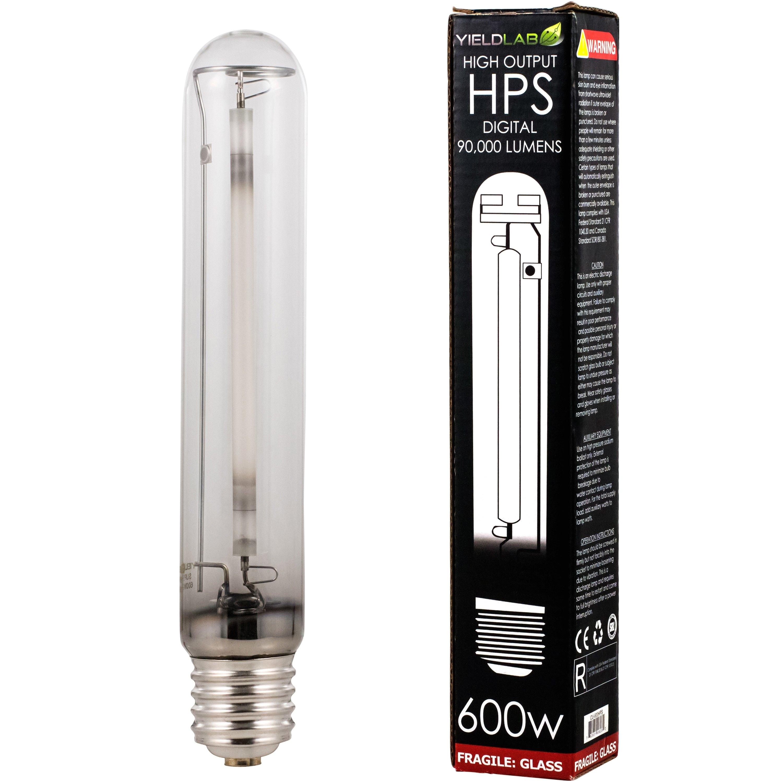 yield lab hps 600w lamp hid bulb