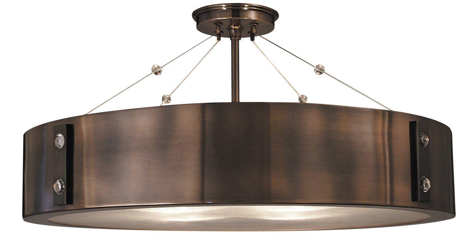 macmillan 23 4 light semi flush mount